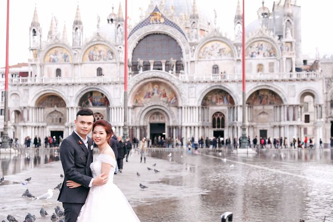 A Romantic Pre-Wedding in Venice-Italy by DUC THIEN PHOTOGRAPHY - 006