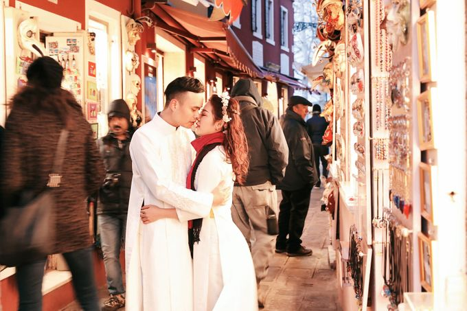 A Romantic Pre-Wedding in Venice-Italy by DUC THIEN PHOTOGRAPHY - 008