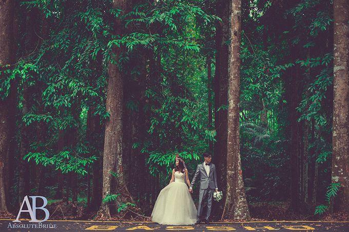 Pre-wedding Shoot Derrick & Fiona by ABSOLUTE BRIDE - 001