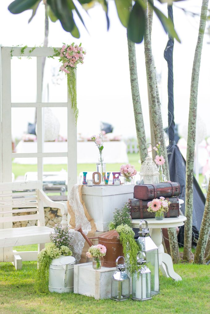 Wedding Rustic Pink by d'Oasis Florist & Decoration - 004