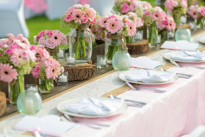 Wedding Rustic Pink by d'Oasis Florist & Decoration - 006