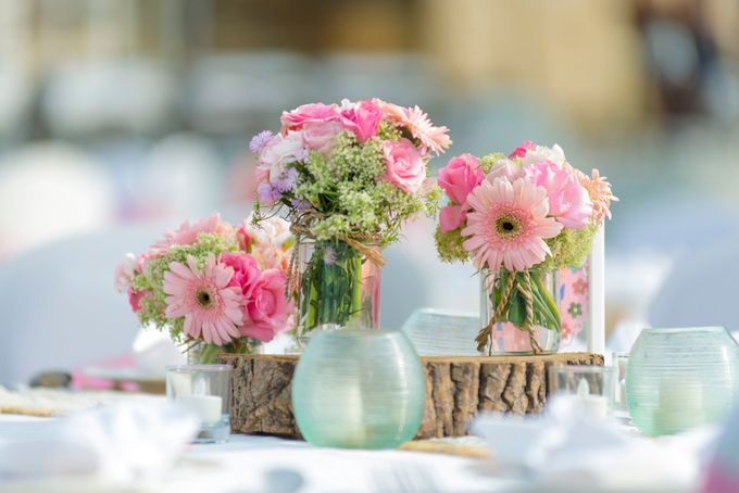 Wedding Rustic Pink by d'Oasis Florist & Decoration - 008