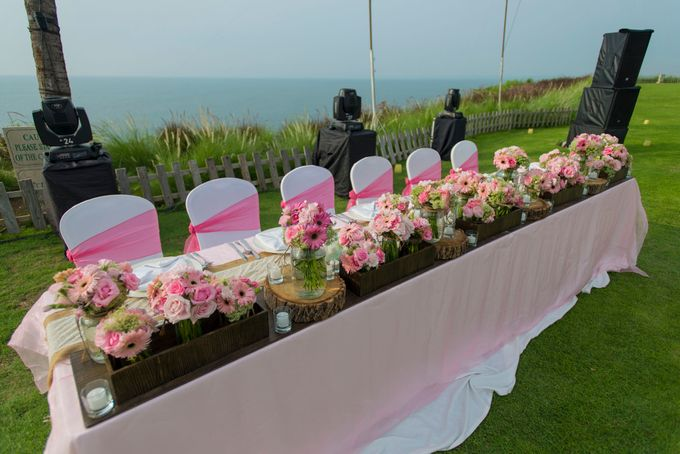Wedding Rustic Pink by d'Oasis Florist & Decoration - 009