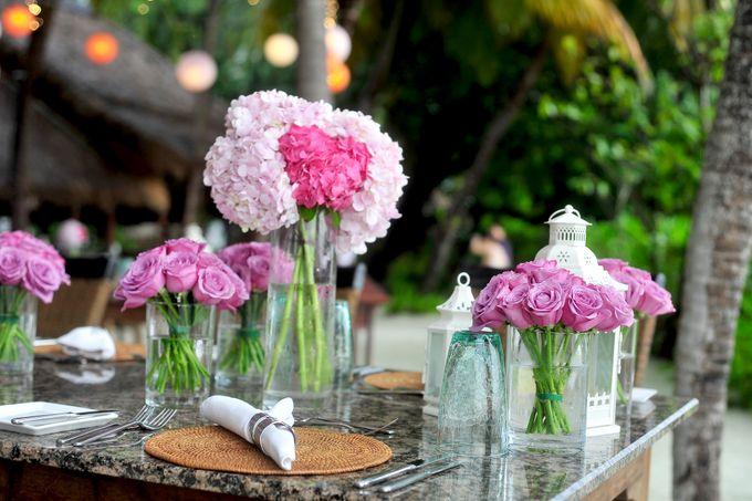 Amy & David's Dream Destination Wedding in Maldives. by Asad's Photography - 001