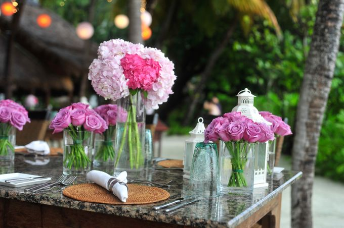 Amy & David's Dream Destination Wedding in Maldives. by Asad's Photography - 014