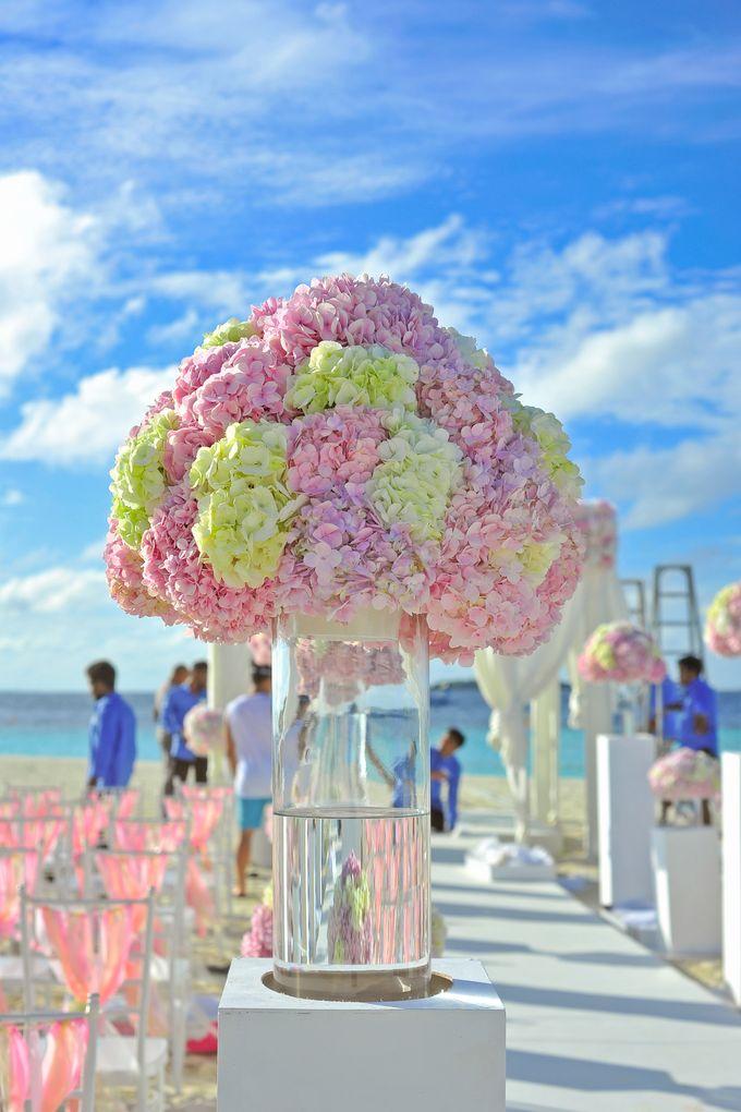 Amy & David's Dream Destination Wedding in Maldives. by Asad's Photography - 017