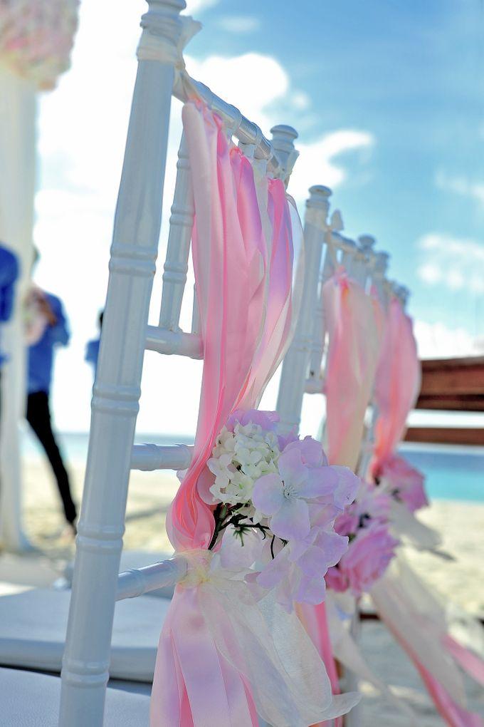 Amy & David's Dream Destination Wedding in Maldives. by Asad's Photography - 003
