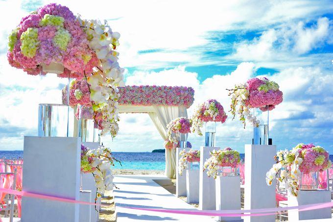 Amy & David's Dream Destination Wedding in Maldives. by Asad's Photography - 007