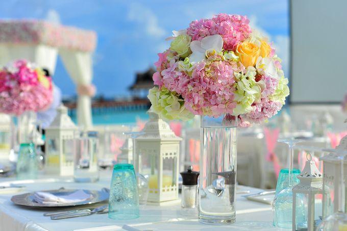 Amy & David's Dream Destination Wedding in Maldives. by Asad's Photography - 008