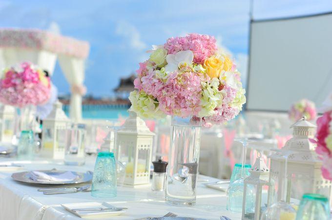 Amy & David's Dream Destination Wedding in Maldives. by Asad's Photography - 019