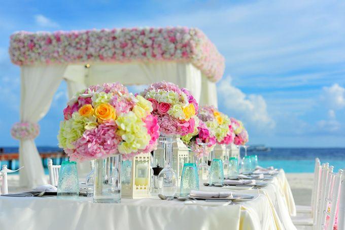 Amy & David's Dream Destination Wedding in Maldives. by Asad's Photography - 009