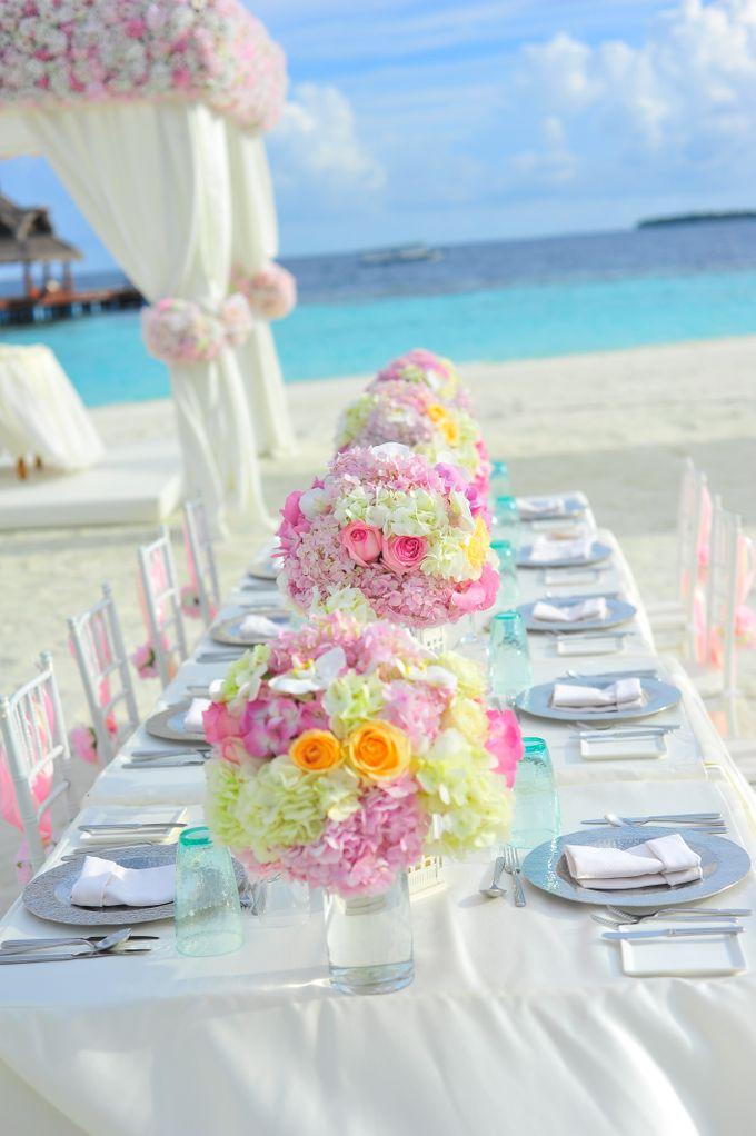Amy & David's Dream Destination Wedding in Maldives. by Asad's Photography - 021