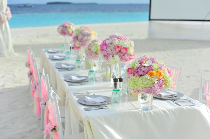 Amy & David's Dream Destination Wedding in Maldives. by Asad's Photography - 022
