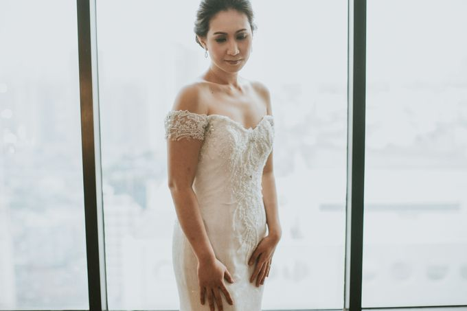 Yayaati and Sam Rooftop Wedding by James Morrison Photo - 016
