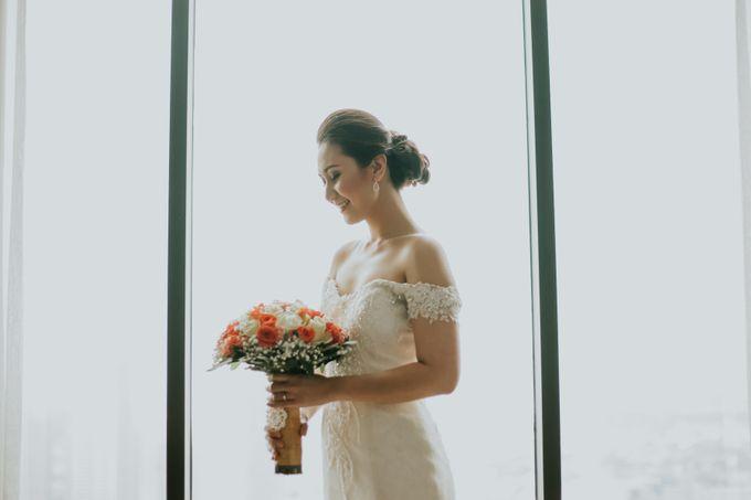 Yayaati and Sam Rooftop Wedding by James Morrison Photo - 017