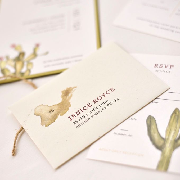 Desert Romance by Paper Pressed  - 003
