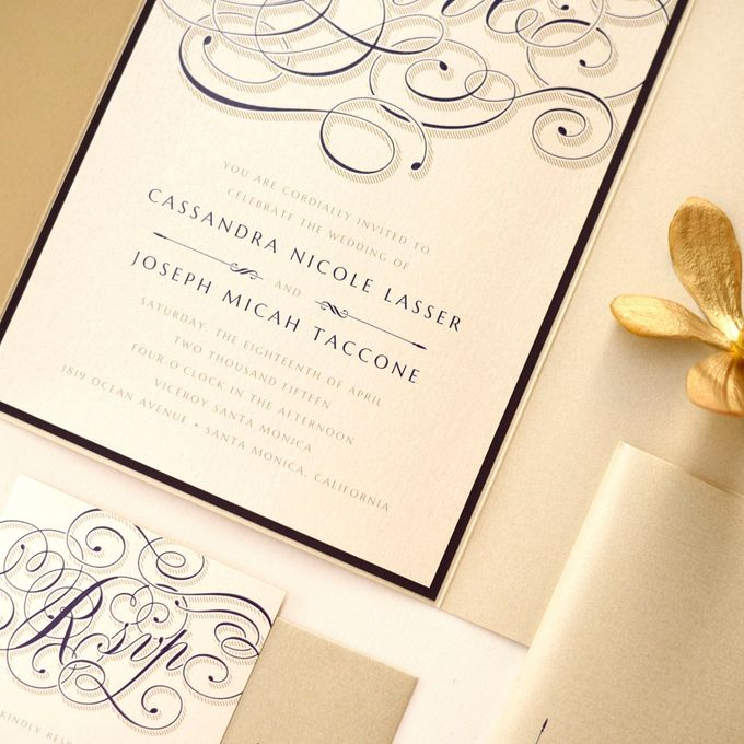 Calligraphy Crush Glam by Paper Pressed  - 002