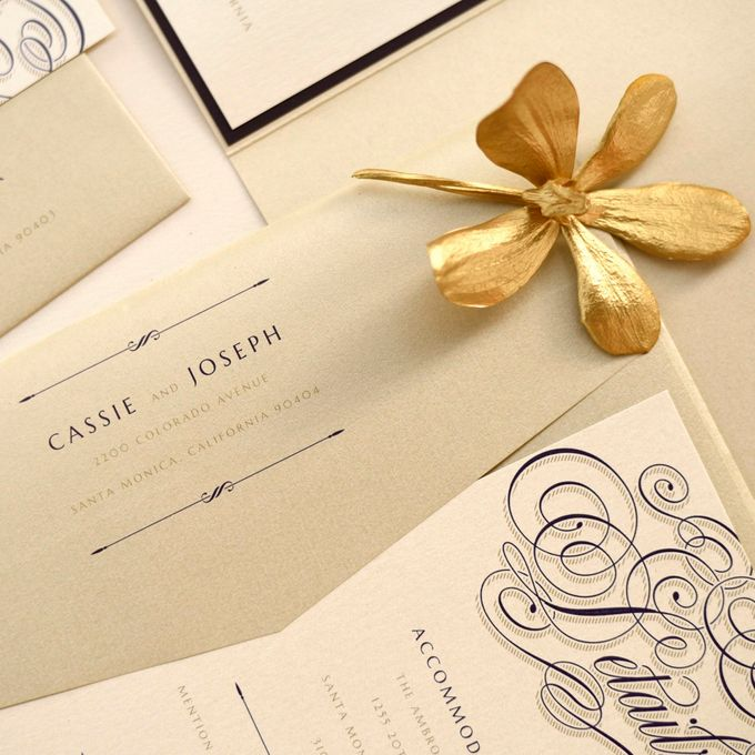 Calligraphy Crush Glam by Paper Pressed  - 006