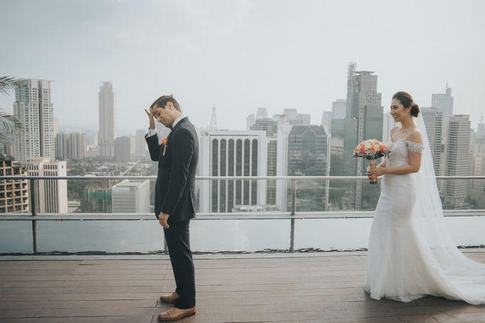 Yayaati and Sam Rooftop Wedding by James Morrison Photo - 025