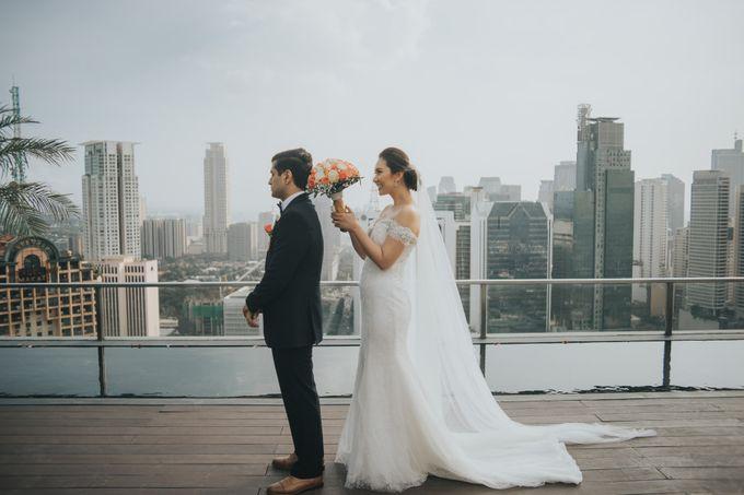 Yayaati and Sam Rooftop Wedding by James Morrison Photo - 026