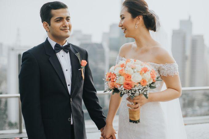Yayaati and Sam Rooftop Wedding by James Morrison Photo - 028