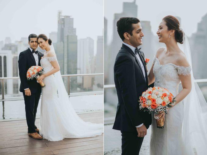 Yayaati and Sam Rooftop Wedding by James Morrison Photo - 029