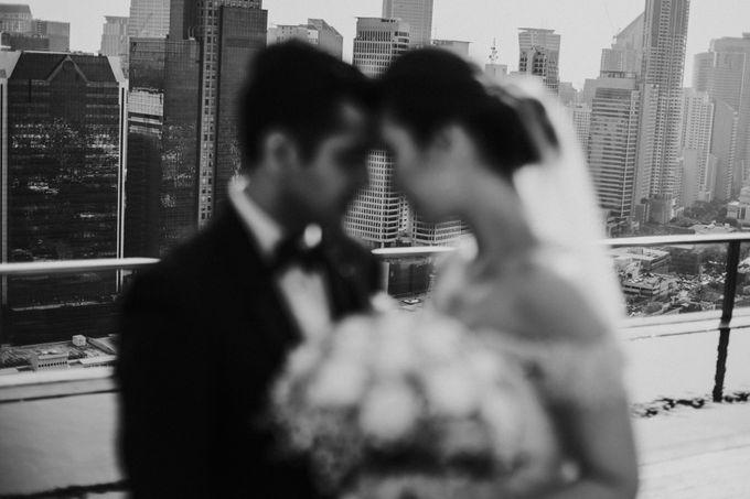 Yayaati and Sam Rooftop Wedding by James Morrison Photo - 031