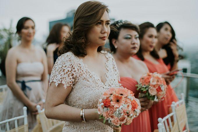 Yayaati and Sam Rooftop Wedding by James Morrison Photo - 034