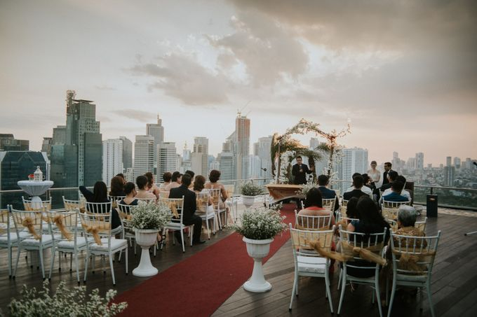 Yayaati and Sam Rooftop Wedding by James Morrison Photo - 035