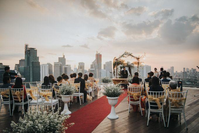 Yayaati and Sam Rooftop Wedding by James Morrison Photo - 036