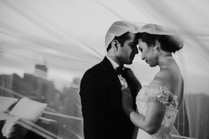 Yayaati and Sam Rooftop Wedding by James Morrison Photo - 039