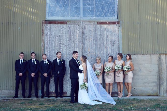 Yarra Valley Weddings by Zonzo Estate - 001