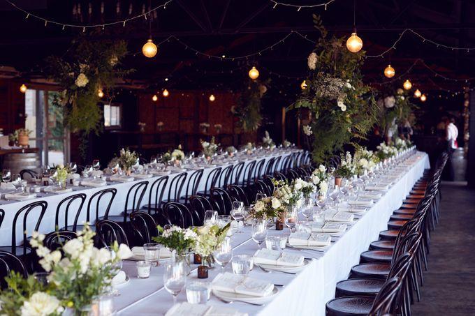 Yarra Valley Weddings by Zonzo Estate - 002