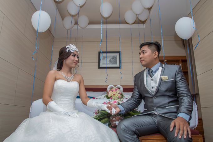 Wedding on a Rooftop at Kuta by KutaBex Beach Front Hotel Bali - 001