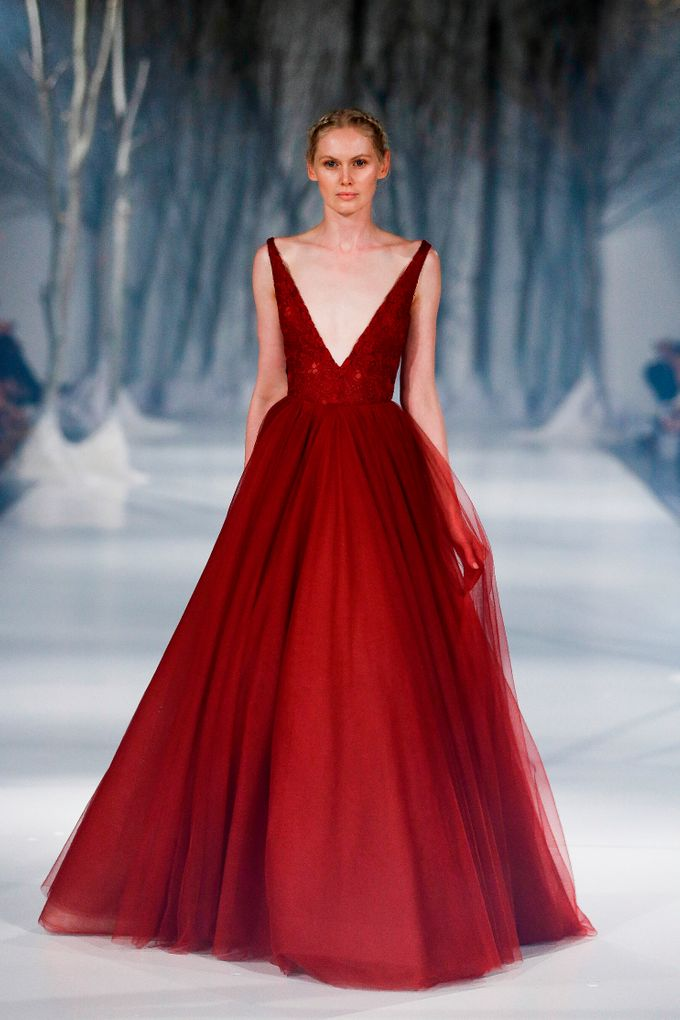 Paolo Sebastian - The Snow Maiden Autumn-Winter 2016 collection by The Proposal - 005
