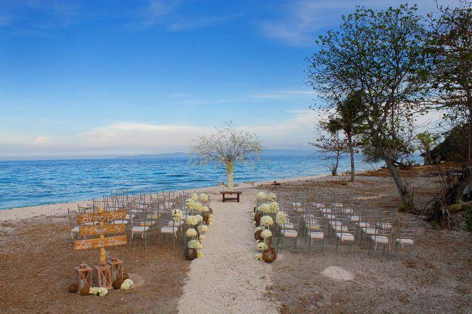 Bluewater maribago beach resort wedding