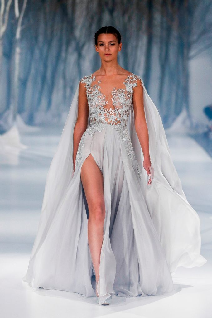 Paolo Sebastian - The Snow Maiden Autumn-Winter 2016 collection by The Proposal - 008
