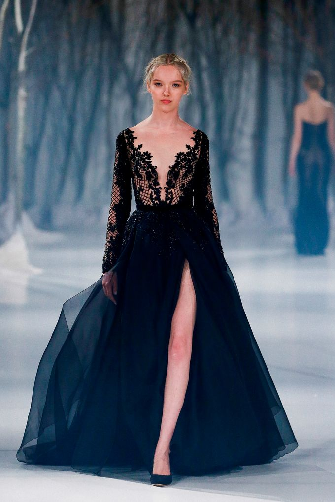 Paolo Sebastian - The Snow Maiden Autumn-Winter 2016 collection by The Proposal - 014