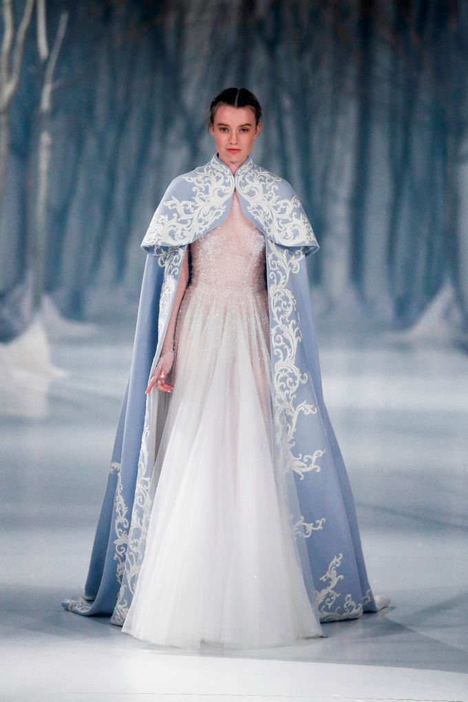 Paolo Sebastian - The Snow Maiden Autumn-Winter 2016 collection by The Proposal - 018