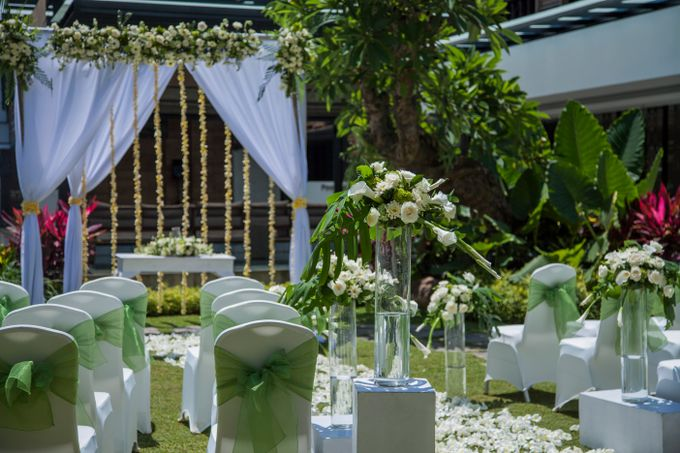 Garden Wedding by Courtyard by Marriott Bali Seminyak - 003