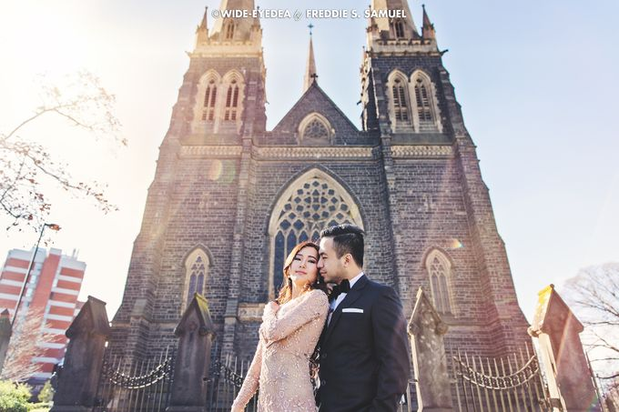 Postwedding - Ronald & Fenny by Keziah Shierly Makeup Artist - 002