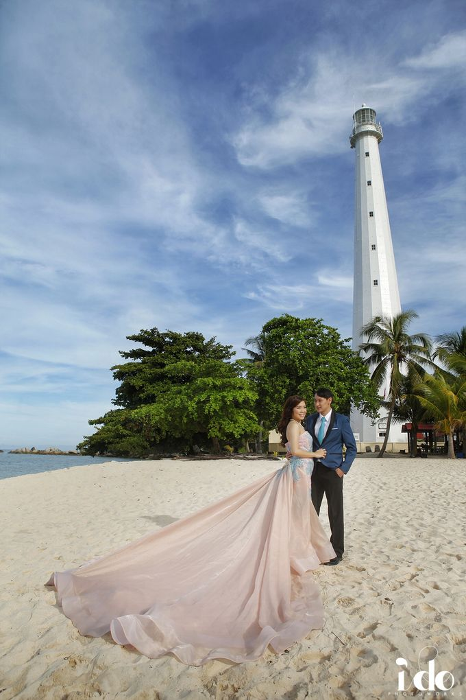 Prewedding Gown for Mrs Ribka by Yes I Do Photographer - 001