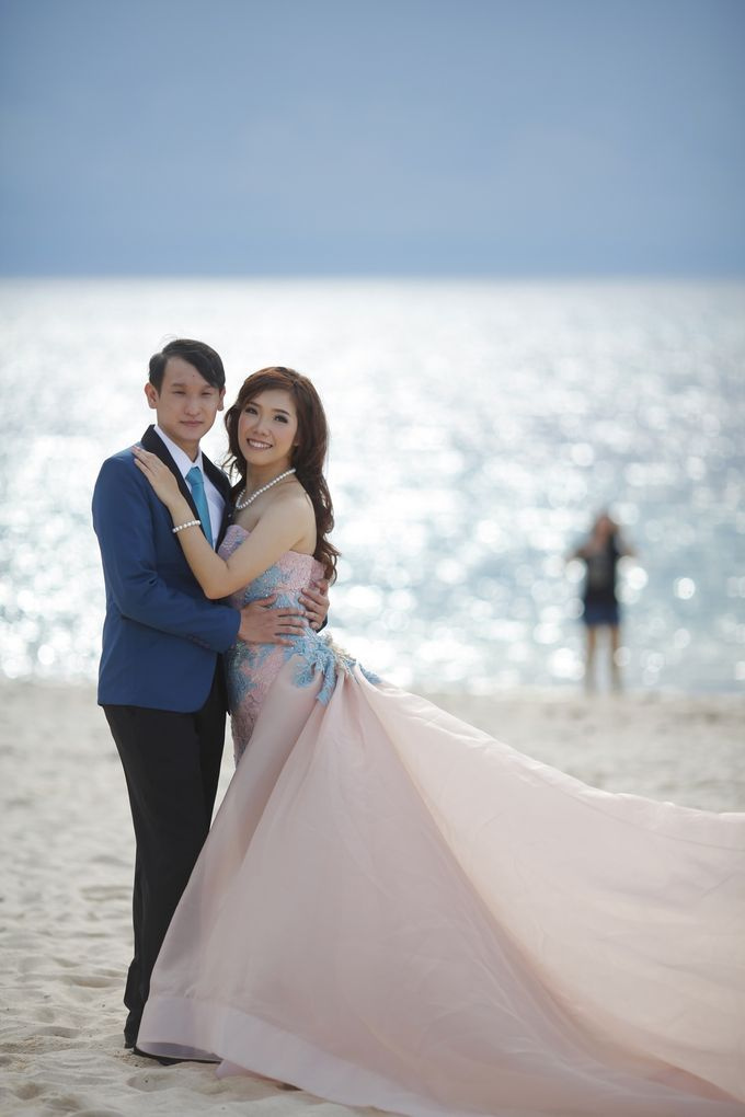 Prewedding Gown for Mrs Ribka by Yes I Do Photographer - 002