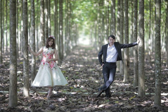 Prewedding Gown for Mrs Ribka by Yes I Do Photographer - 005