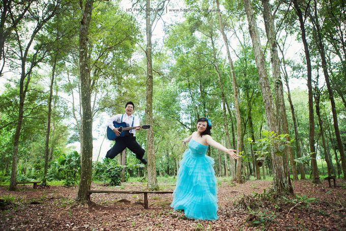 Hendra & Martha - pre wedding by HD Photography - 016