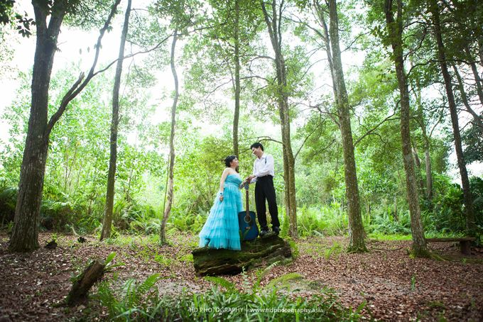Hendra & Martha - pre wedding by HD Photography - 017