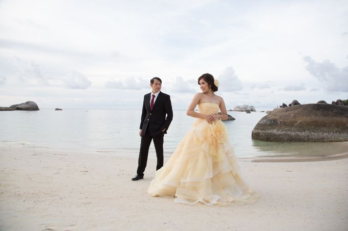 Prewedding Gown for Mrs Ribka by Yes I Do Photographer - 006