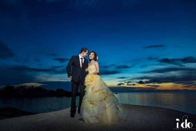 Prewedding Gown for Mrs Ribka by Yes I Do Photographer - 007