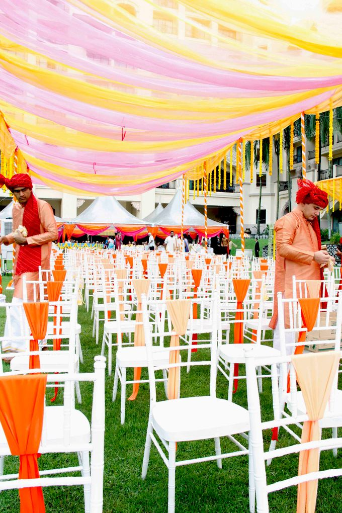Garden Wedding by Palace of the Golden Horses - 004