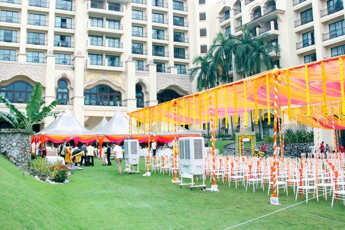 Garden Wedding by Palace of the Golden Horses - 005